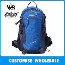 Promotion Embroidered Handmade Backpack For Hiking With Free Rain Cover