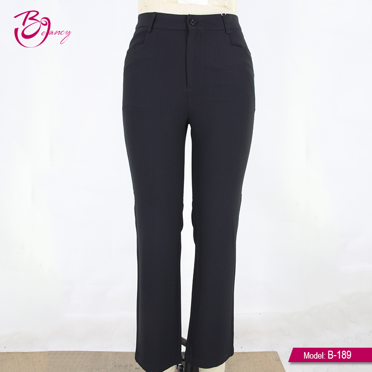 Wholesale Factory Price Customized Formal Trousers For Women