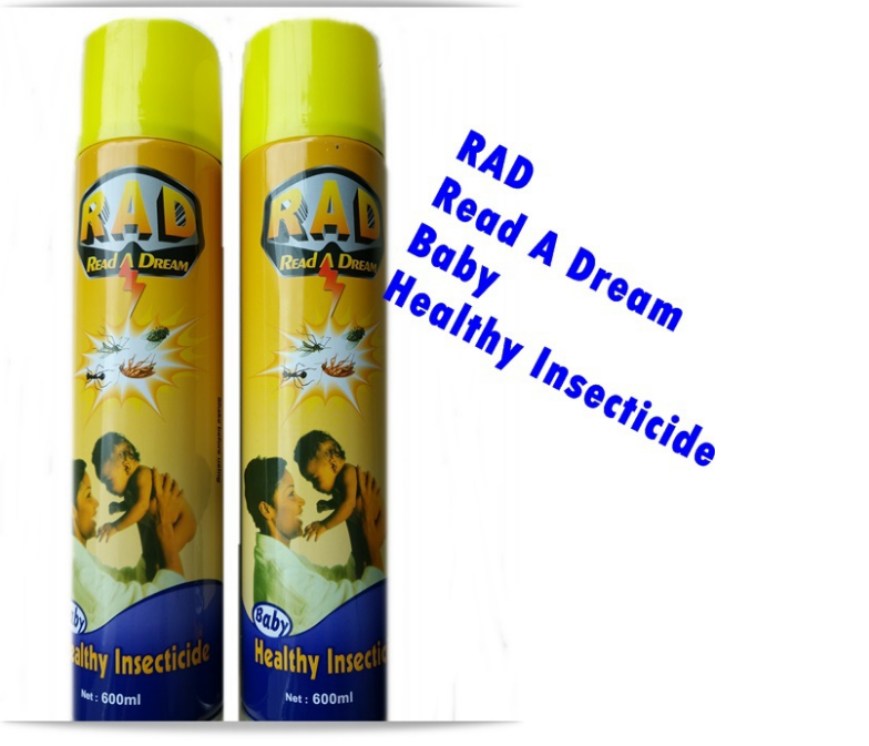 China Factory Export Hot Sell Insecticide/Insecticide Spray for Pest Control/Read A Dream Multi Insecticide