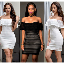 DD026 2016 China Supplier Deep V Neck Transparent Ladies Sexy Night Dress