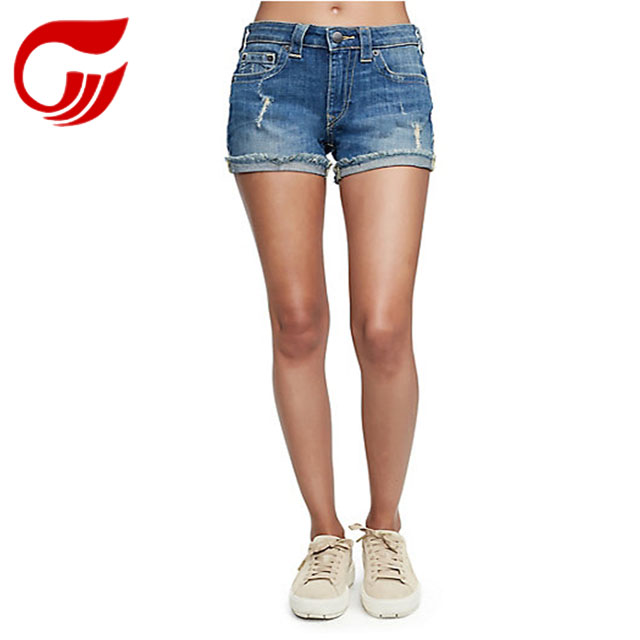 Sexy tight shorts girls tight jeans shorts stock jeans denim jeans manufacturer