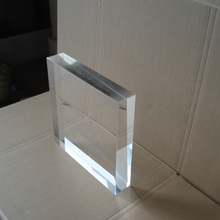 Customized design clear large acrylic display cube