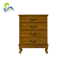 Dependable wood furniture cabinet corner cupboard