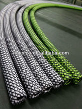 PET/cotton/PPS braided expandable cable protection sleeve for silicone tube