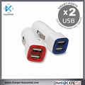 High Quality Promotional USB Car Charger 2A Dual Port With Cheap Price