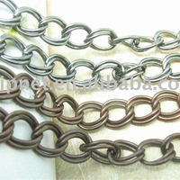 Decorative Double Metal Chains For Handbags