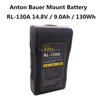 Rolux RL-130A Anton/Bauer Gold Mount lithium-ion battery 130Wh 14.8V