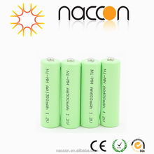 ni-mh rechargeable battery pack aa 2000mah 2.4v batteries