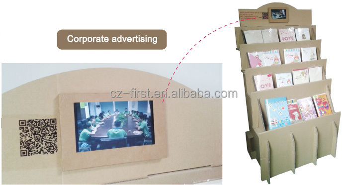 7inch LCD HD TFT Screen Video Digital Catalog Player