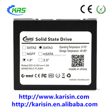 "POS/Digital Signage/ATM Using Karisin 8GB SSD 1.8"" SATAII Internal Hard Disk Drive"
