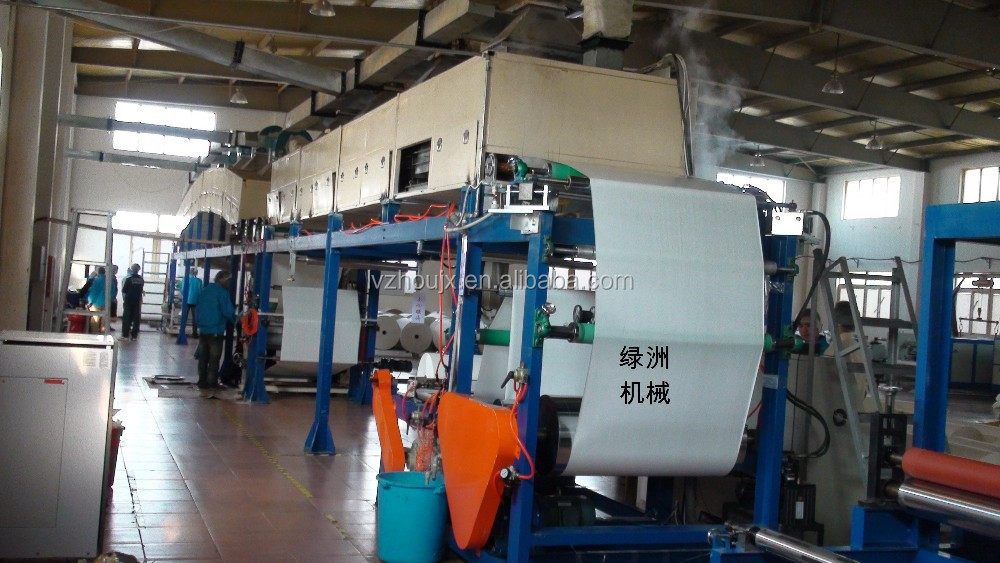Shijiazhuang Solvent silicone paper coating machine/adhesive tape production line