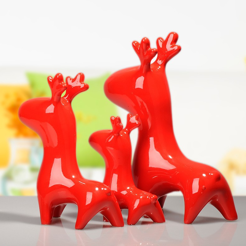 home decoration items resin indoor deer statues for sales