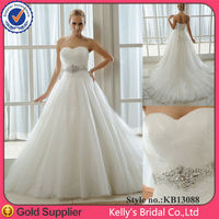 real sample dress mini champagne &beaded belt orange and white wedding dresses2015