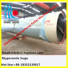 CSD hot sale professional sawdust wood chips rotary drum dryer