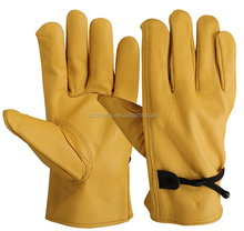 Winter warm car glove truck driver safety gloves with EN388 and CE certificate