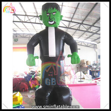 Hot selling giant inflatable monster model,inflatable zombie character,inflatable halloween decoration for sale