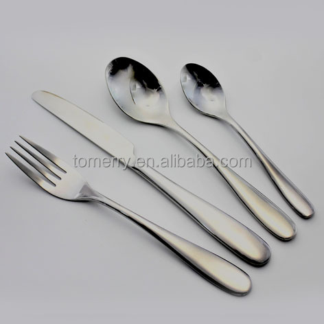 Heavy weight flatware hight quality forge stainless steel cutlery set
