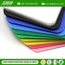 Cheap correx ribbed plastic sheets