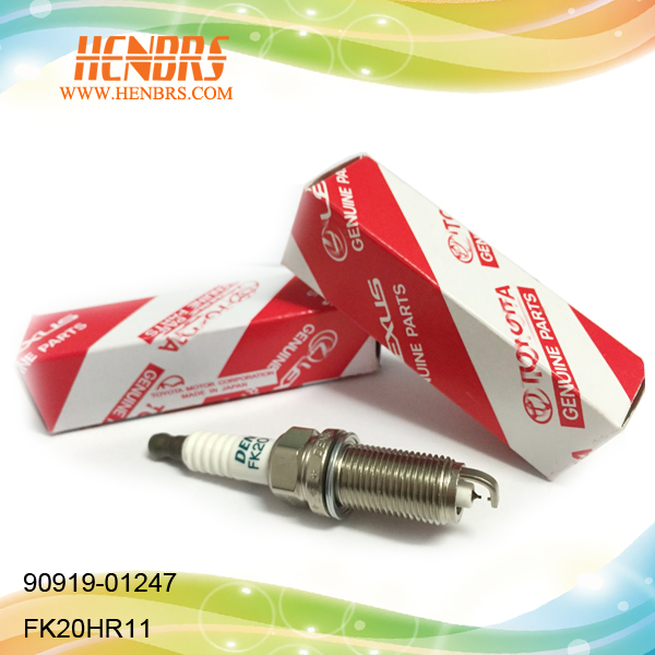 Auto toyota spare parts iridium spark plug Genuine parts FK20HR11 90919-01247