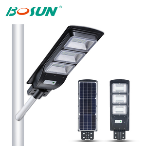GEBOSUN High brightness 20 40 60 watt ip65 outdoor waterproof led chip solar street light price