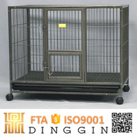 Safety and comfort square tube dog cage