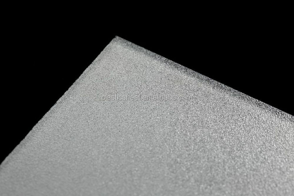 Matte PS diffuser plate suitable for LED panel light fittings