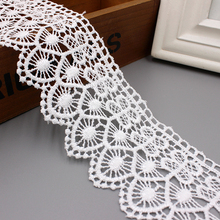 White Cotton Spandex <strong>Lace</strong> Trimming Guipure <strong>Lace</strong> for wholesale