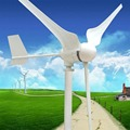 500W WIND GENERATOR TURBINE FOR ROOF AND STREETLIGHT