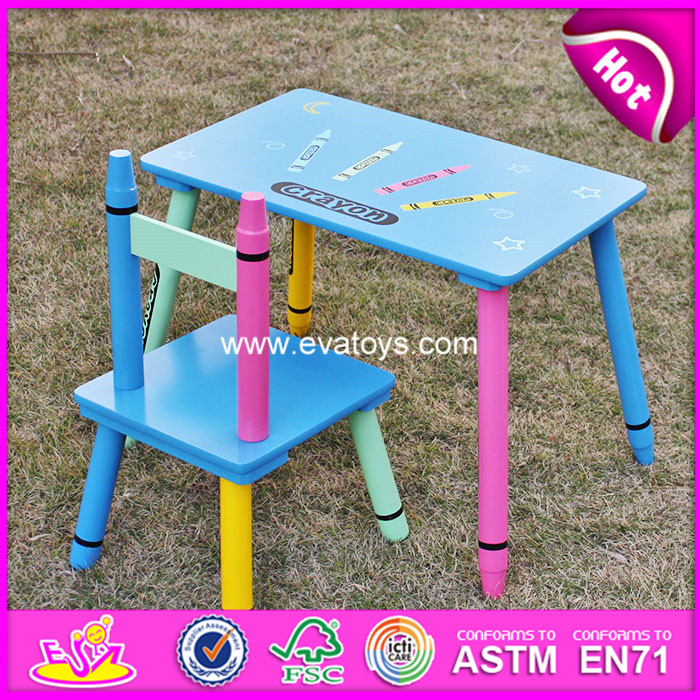 2016 high quality child wooden table and chair,best sale wooden table and chair,wholesale wooden kids chair for kids
