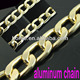2016 gold color metal chains for bags,aluminum bulk chain