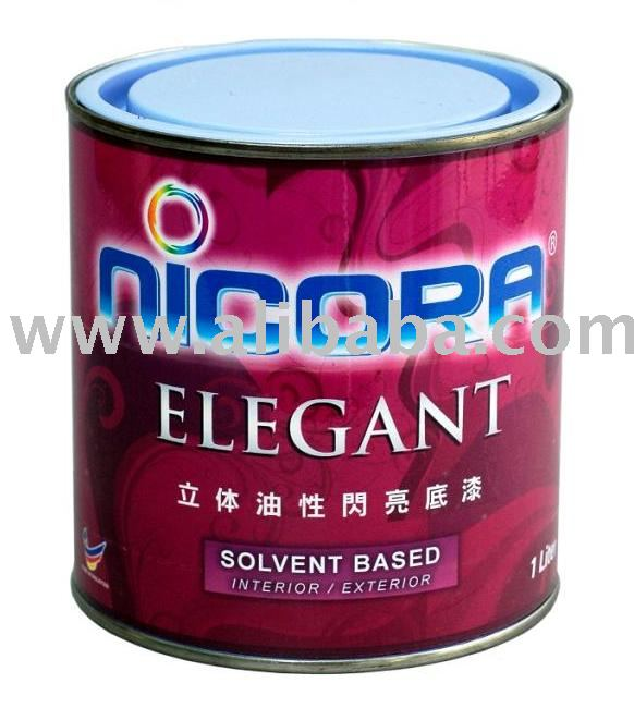 Nicora Elegant Paint -- NEW Primer!!! (Solvent Based)