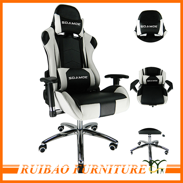 Luxury Racing Car Style PC Gaming Chair Office Chair Parts for Heavy People
