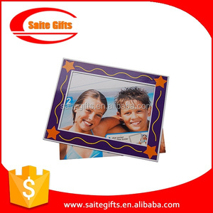 Promotional advertising Paper magnetic picture frame,Magnetic Photo Frame