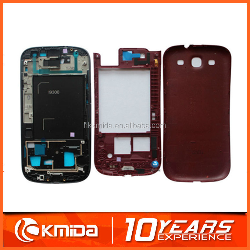 Wholesale high top quality For Samsung S3 i9300 rear housing with competitive price