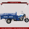 Kavaki brand supplier hot selling blue 150cc carrying goods gasoline adult tricycle