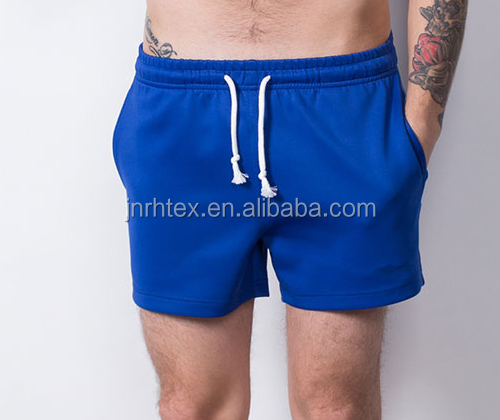 china wholesale hot-selling custom polyester/cotton gym shorts for men