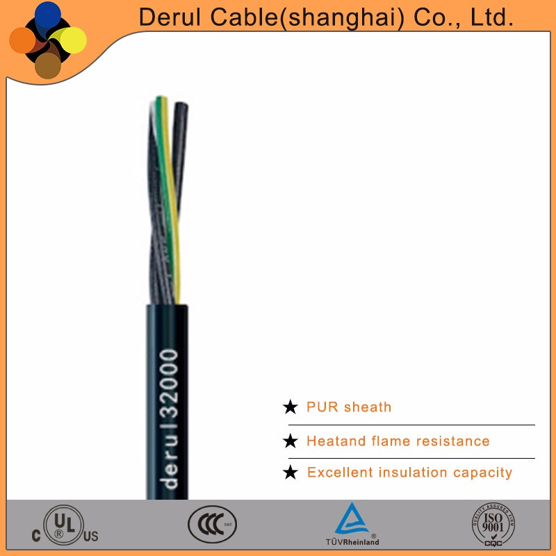 Flexible electrical cable wire 10mm with high strength and water resistance