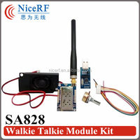 2015 SA828-U UHF Walkie Talkie Module 400~480MHz 500mW~1W Wireless Audio Receiver Transmitter Module