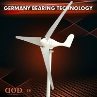 home use permanent wind power generator 1kw wind turbine price with wind solar hybrid controller