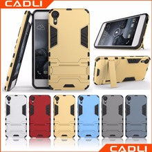 PC TPU 3 In 1 Amor Shockproof Phone Case With Stand Free Sample Phone Case For HTC Desire 10