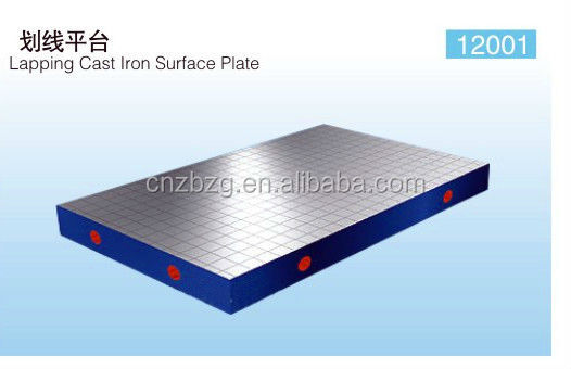 High Precision and Good Use Lathe bed casting iron surface work table made in ZBZG Manufacture