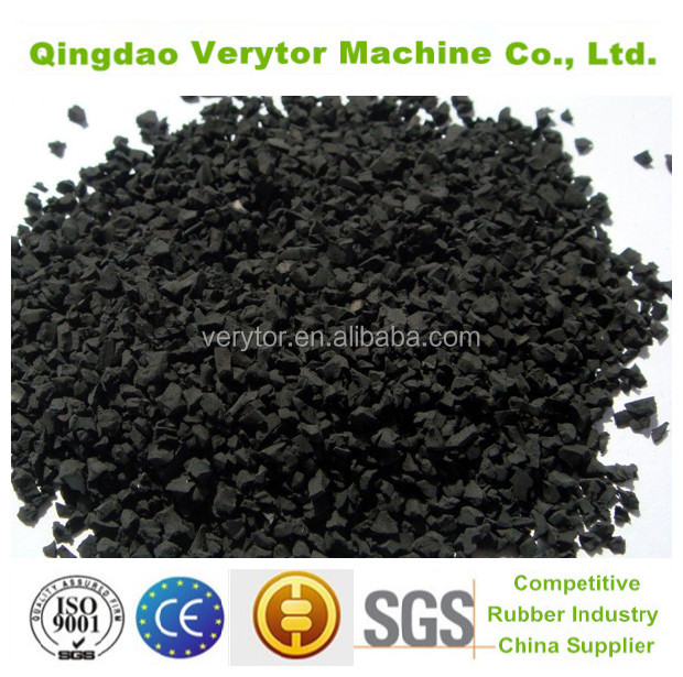 recycled tyre price of crumb rubber powder for sale