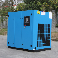 rotary screw air compressor for plastic