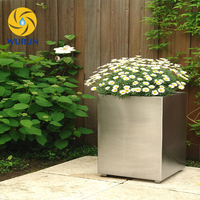 Custom Metal Stainless Steel Flower Pot