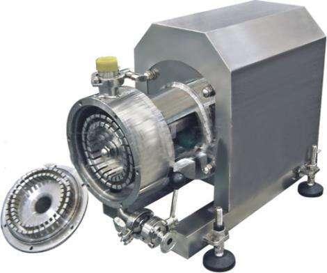 cosmetics making machine pipeline disperser mixer machine