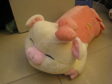 promotional plush pig lovely pink plush baby pig