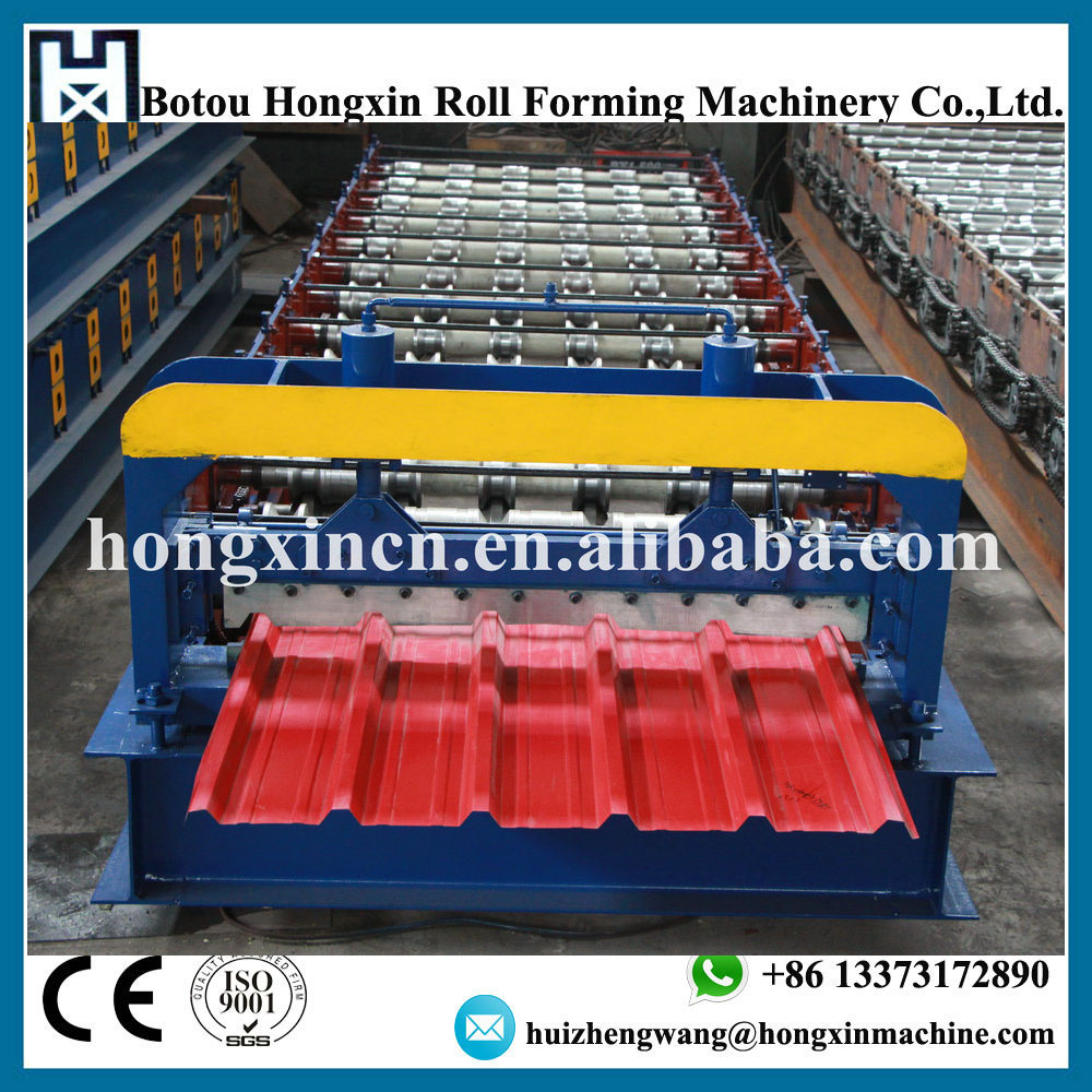 Most Popular Hydraulic Automatic Color Steel Metal Tile Sheet Roof Steel IBR Roll Forming Machine