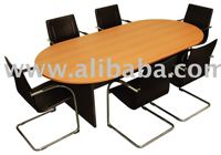 Conference Table laminated finish, modular type, in various sizes
