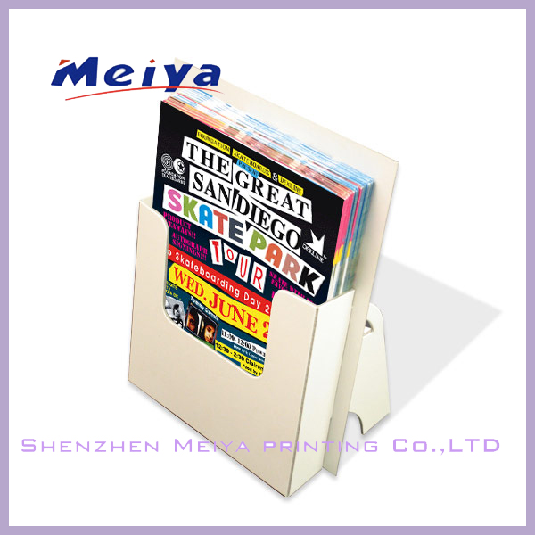 Wholesale high quality simple & practical paper cardboard shelf for books