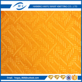 China manufacturer embossed glue fabric best quality